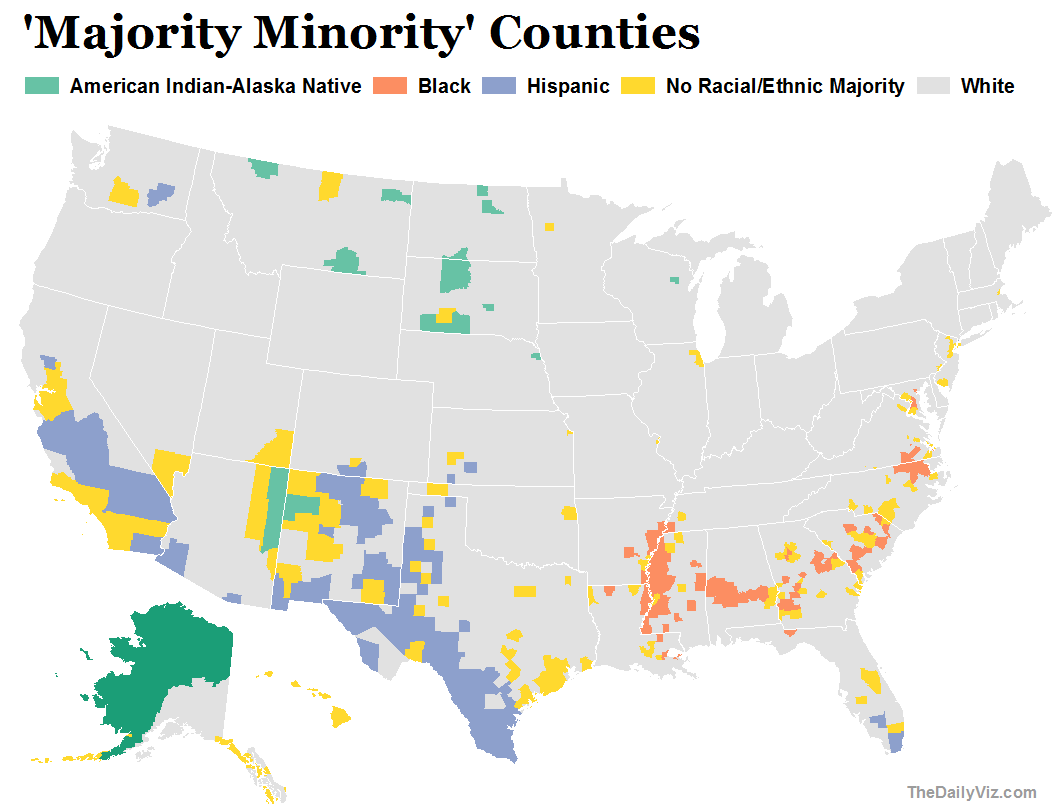 mapping consistently partisan counties